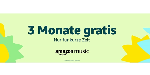 Amazon Music Unlimited 3 Monate gratis für ehemalige Abonnenten