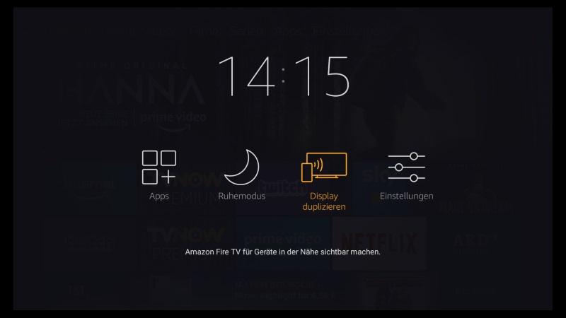 Fire TV Stick Miracast: Software Update 6.2.6.3 rüstet Screen Mirroring nach