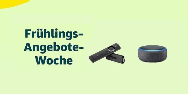 Frühlings-Angebote-Woche: Fire TV Stick 4K, Echo-Lautsprecher, Kindle und Tablets stark reduziert!