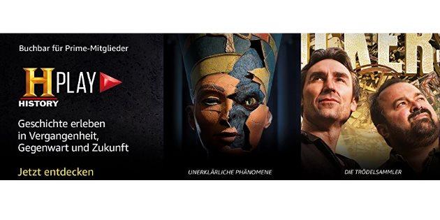 Neuer Prime Video Channel History Play: Jetzt 14 Tage gratis testen