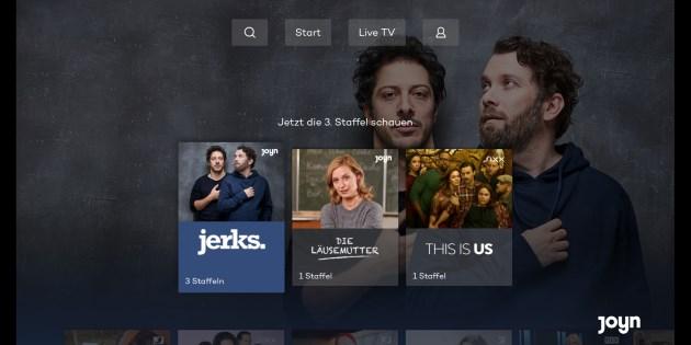 Joyn für Fire TV Stick und Fire TV: Kostenloser Streaming-Dienst startet mit eigener App