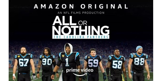 Football-Fans aufgepasst! Amazon zeigt ab dem 19. Juli All Or Nothing mit den Carolina Panthers