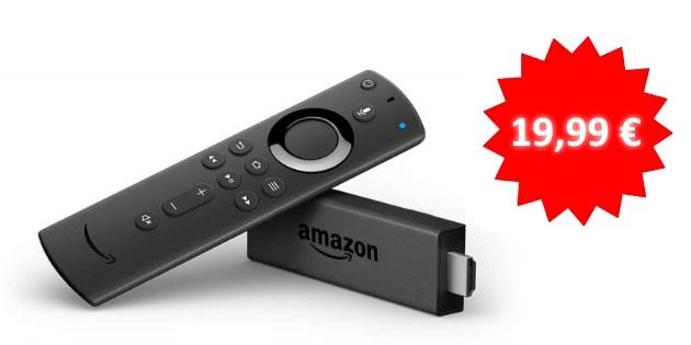 Neuer Bestpreis: Der Fire TV Stick mit der neuen Alexa-Sprachfernbedienung für nur 19,99 Euro