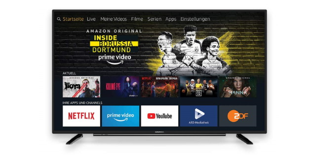 Amazon Fire TV Edition: Smart TVs mit Fire TV kommen nach in Deutschland