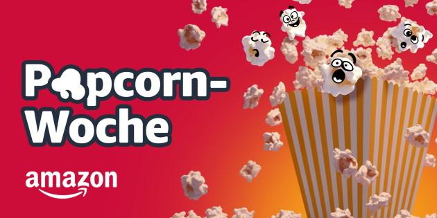 Popcorn-Woche 2019 bei Amazon: Digitale Filme und Serien kräftig reduziert