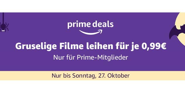 Amazon Prime Deals: Über 700 Grusel-Filme für je 0,99 Euro leihen