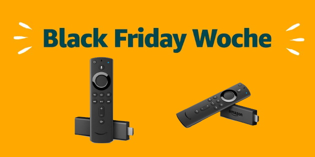 Amazon Black Friday: Fire TV Stick 4K und Fire TV Stick 2 stark reduziert!