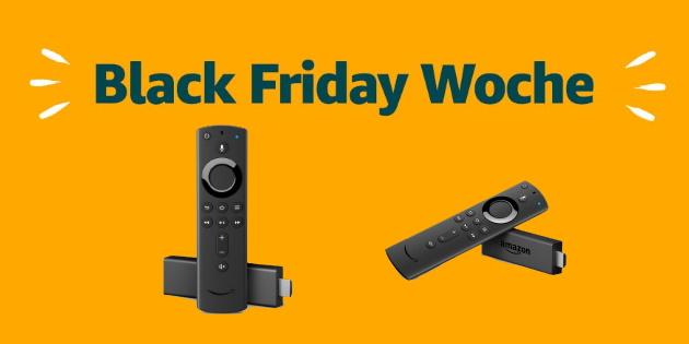 Amazon Black Friday: Fire TV Stick 4K und Fire TV Stick 2 stark reduziert!