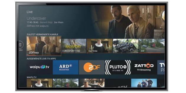 Amazon Fire TV und Fire TV Stick: Neue Live-Übersicht zeigt Live-TV-Inhalte
