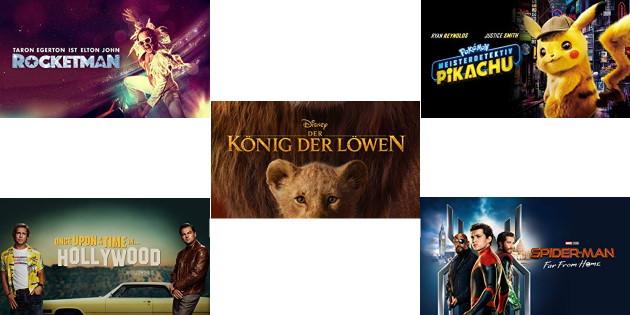 Der König der Löwen, Tarantino, Meisterdetektiv Pickachu und mehr Film-Neuheiten kräftig reduziert