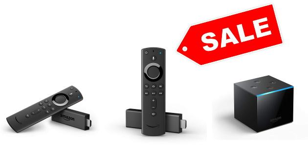 Amazon Fire TV Cube, Fire TV Stick 4K und Fire TV Stick stark reduziert