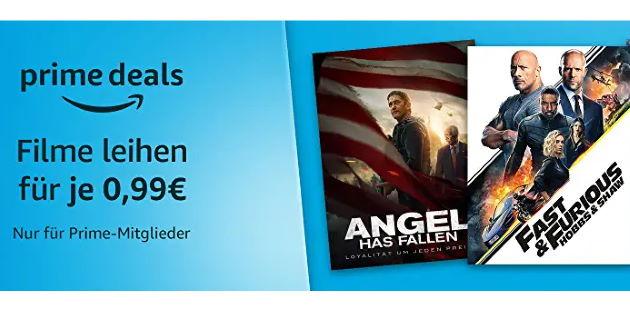Prime Deals: Diese 12 Filme gibt es gerade für je nur 0,99 €