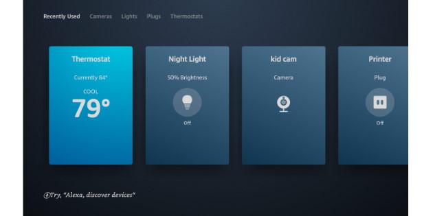 Neues Smart-Home-Dashboard zeigt sich auf einigen Fire-TV-Geräten
