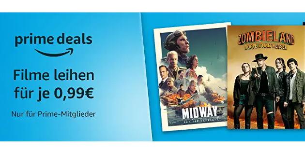 Prime Deals: Diese 30 Filme gibt es für je 99 Cent