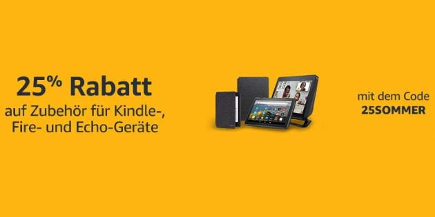Amazon Ethernetadapter für nur 11 Euro: 25 Prozent Rabatt auf Zubehör für Fire TV-, Echo- und Kindle-Geräte