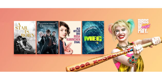 Amazon Prime Video: Große Auswahl an Leihfilmen für je nur 0,97 Euro