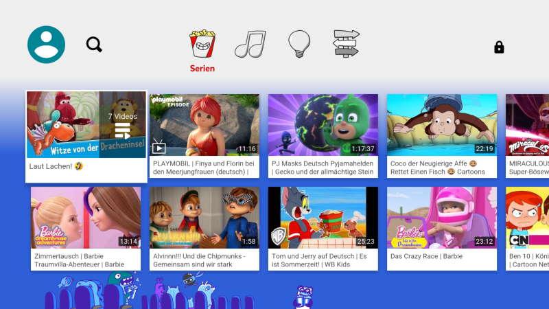 YouTube Kids für Fire TV: Sichere Unterhaltung für Kinder