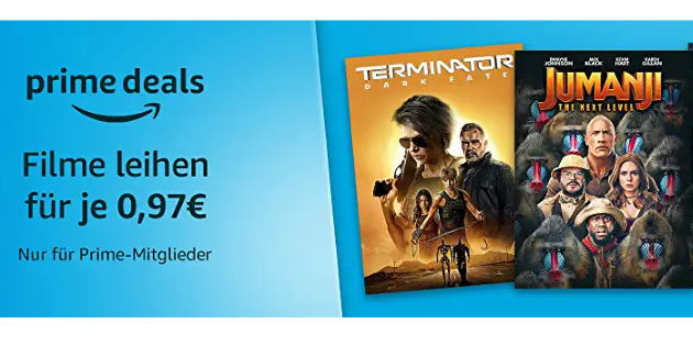 Prime Deals: Diese 17 verschiedene Filme gibt es gerade für je nur 0,97 €