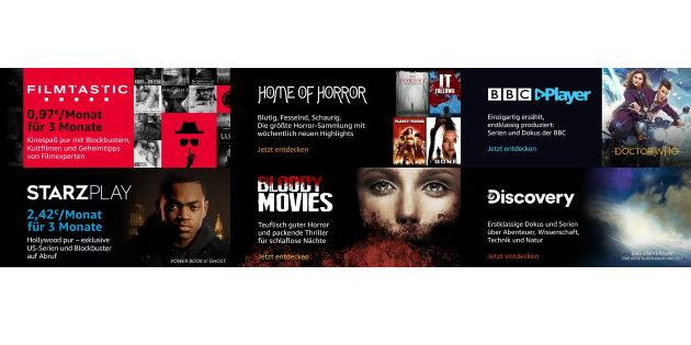 Drei Monate lang ausgiebig testen: Ausgewählte Prime Video Channels für nur 0,97 Euro pro Monat