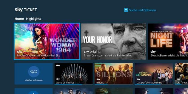 Endlich Sky Ticket auf Fire TV: Die offizielle Sky Ticket App ist da!