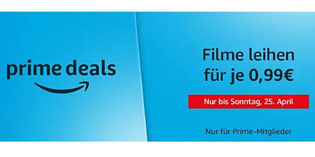 Prime Deals: Eine riesige Auswahl an Filmen für je 99 Cent