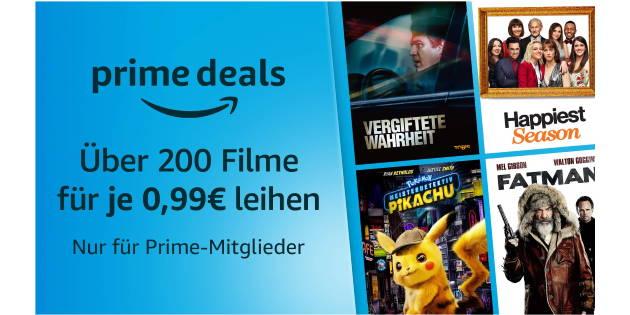 Prime Deals XXL zu Ostern: Über 200 Filme für je nur 99 Cent leihen