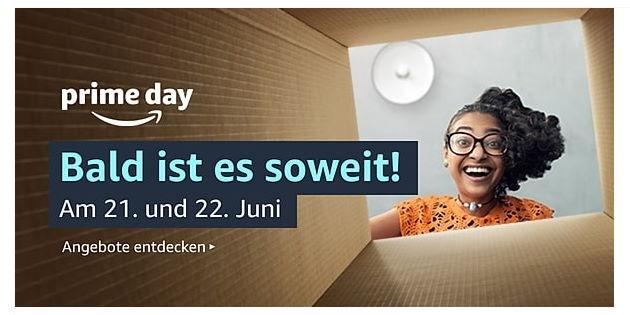 Amazon Prime Day 2021 findet am 21. und 22. Juni statt – erste Angebote schon live!