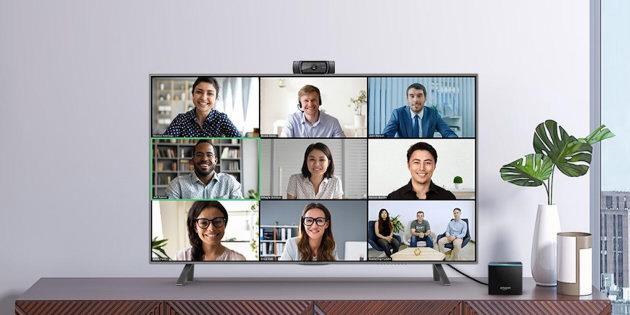 Zoom auf dem Amazon Fire TV Cube: Videoanrufe auf dem großen Fernseher machbar
